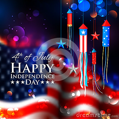 Free Fourth Of July Background For Happy Independence Day  America Stock Image - 73451631