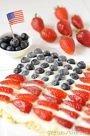 Free Fourth Of July Cake Stock Photos - 30756913
