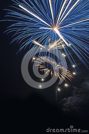 Free Fourth Of July  Fireworks Royalty Free Stock Image - 42803036
