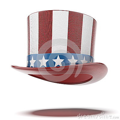 Free Fourth Of July Hat Stock Photography - 35281562