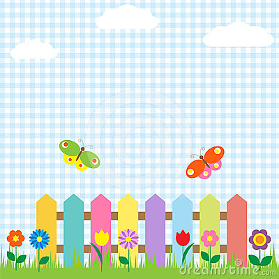 Free Fowers And Butterflies Royalty Free Stock Photo - 24456625