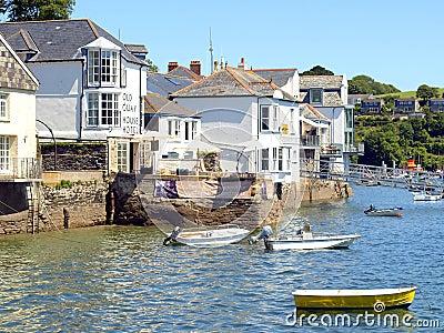 Fowey, Cornwall. Editorial Stock Image