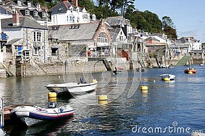 Fowey harbour, Cornwall