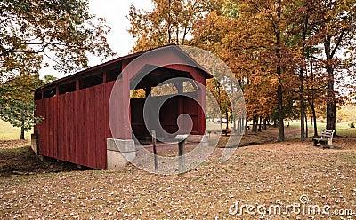 Fowlersville Covered Bridge Pennsylvania