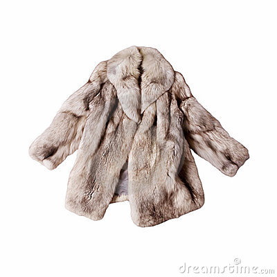 Free Fox Fur Coat Stock Images - 18459854