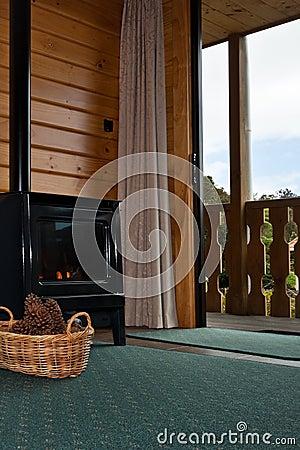 Fox Glacier Lodge apartment Interior - New Zealand