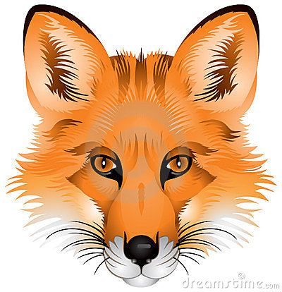 Fox Head Clip Art Red fox head stock illustrations, vectors, & clipart ...