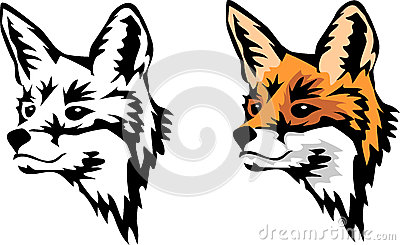 Set Of Fox Symbols Sto...