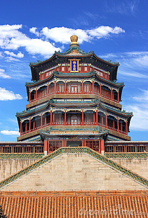 The foxiangge of Summer Palace