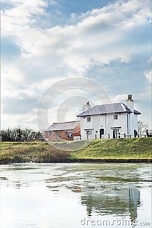 Foxton locks house