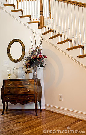 Free Foyer By Stairs Royalty Free Stock Photos - 6384568