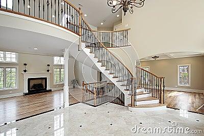 foyer-circular-staircase- ...