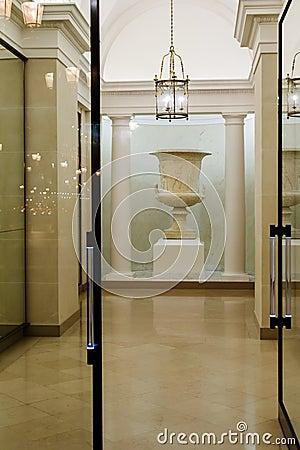 Foyer of a hotel