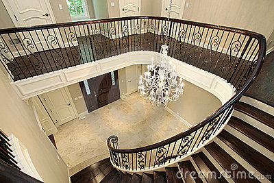 Foyer from second floor