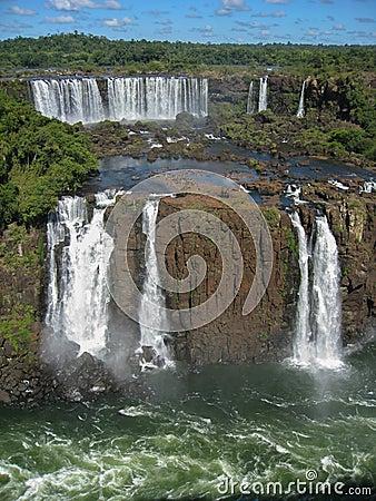 Free Foz Do Iguacu Falls Argentina Brazil Stock Photos - 32628363
