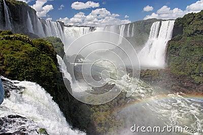 Foz do Iguassu Falls Argentina Brazil