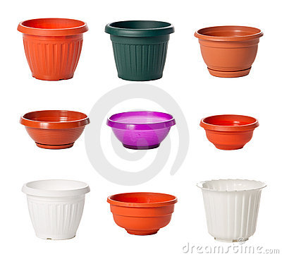 För växtplast- för blomkrukar inomhus set