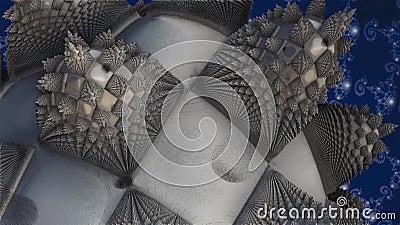 Fractal - abstraktion stock illustrationer
