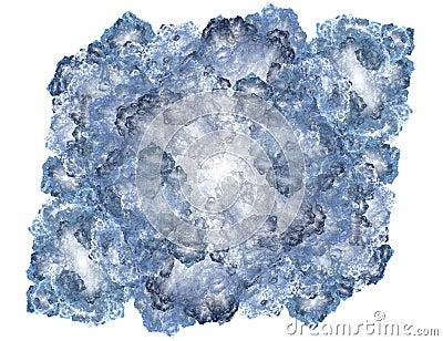 Fractal Block of Ice