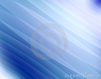 Fractal blue wave