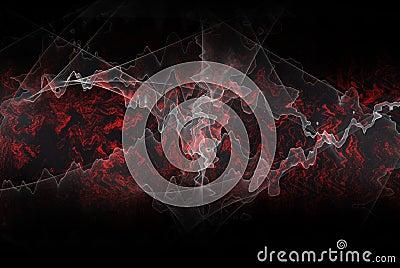 Fractal energy background