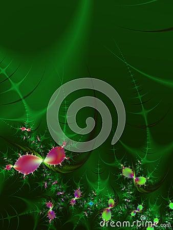 Free Fractal Flower Garden Petals  Stock Images - 1852344