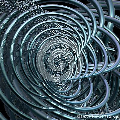 Fractal Rings Background