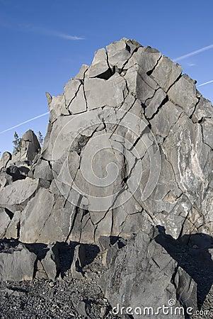 Fractured Rockface