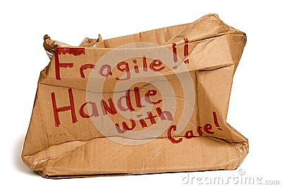Fragile Brown Box XXXL