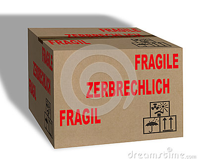 Fragile Carton box