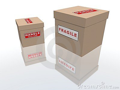Fragile packages