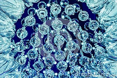 Fragment chandeliers
