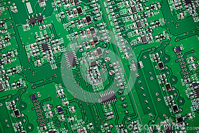 Fragment of circuit board