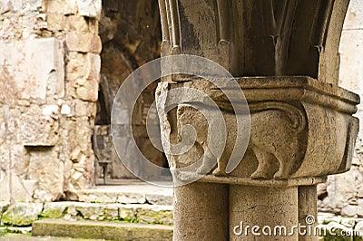 Fragment of a column