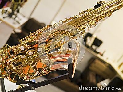 Fragment de saxophone
