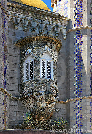 Fragment of decoration, Palacio da Pena