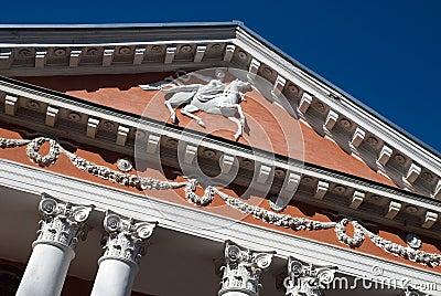 Palace facade fragment