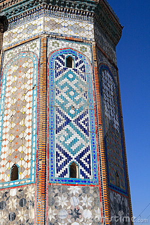Fragment of minaret