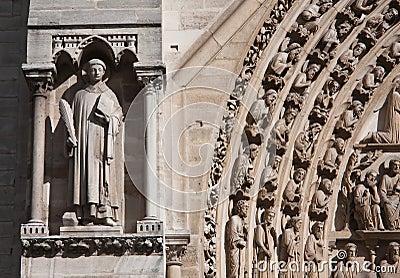 Fragment of Notre Dame