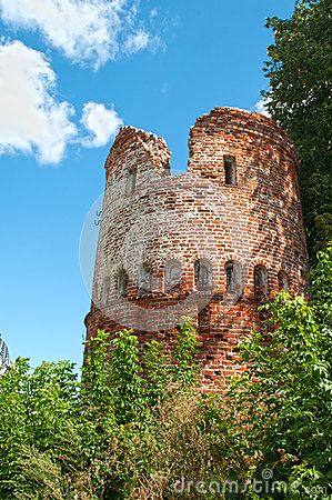 Fragment of old city wall
