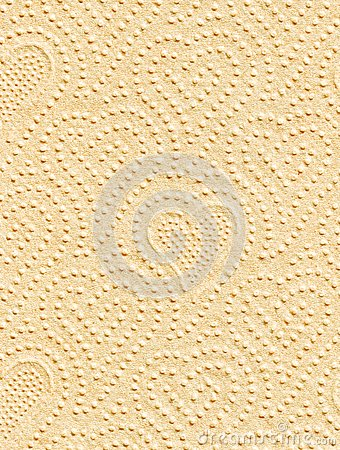 Fragment of a paper napkin