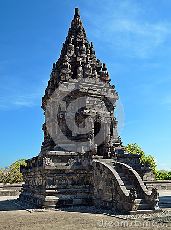Fragment of Prambanan Temple, Java, Indonesia