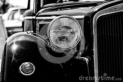 A Fragment Of A Retro Car Royalty Free Stock Photo - Image: 25366185