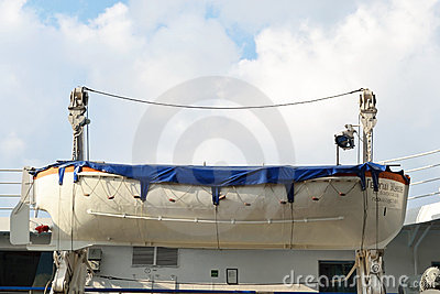Fragment of river cruise ship Editorial Stock Photo