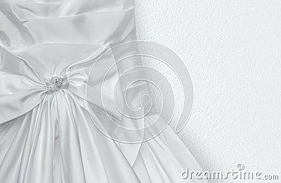 Fragment of Wedding dress