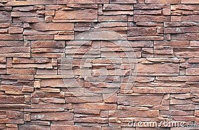 Fragmento de la pared de la piedra decorativa imagenes de - Piedra decorativa para paredes ...