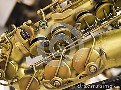 Fragmento del saxofón