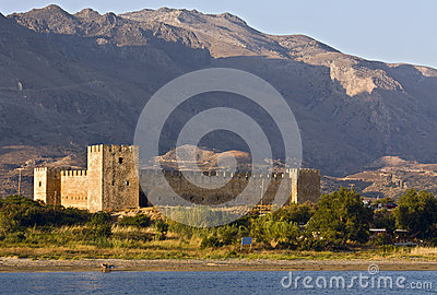 Fragocastelo at Crete island, Greece