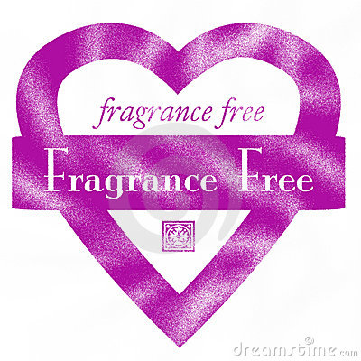 Fragrance Free Heart Rubber Stamp