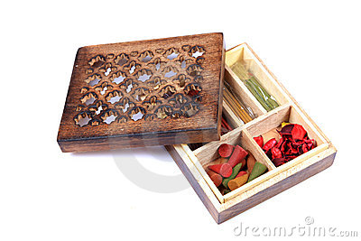 Fragrance item wooden box